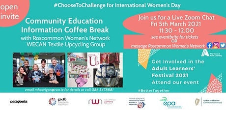 International Women's Day Community Ed. info morning (Upcycling training) tickets