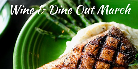 Wine & Dine Out  - March- Beardslee Public House and  Your choice of wine tickets