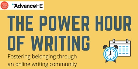 Teaching with a Power Hour: fostering belonging through a writing community tickets