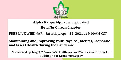 Maintaining and Improving your Physical, Mental, Economic and Fiscal Health tickets
