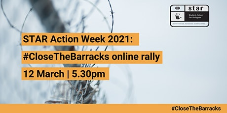 #CloseTheBarracks online rally - Student Action for Refugees tickets