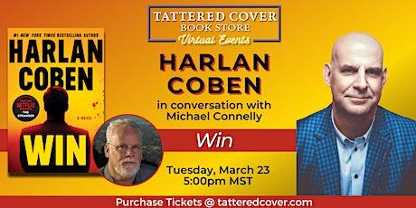 Live Stream with Harlan Coben tickets