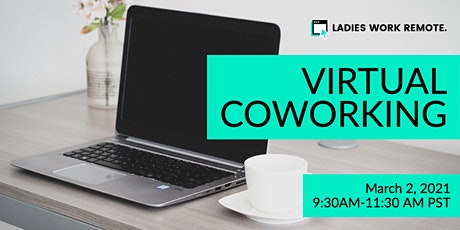Virtual Coworking Session tickets