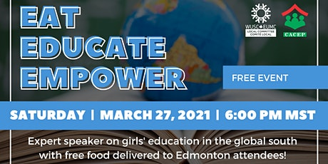 Eat, Educate, Empower tickets