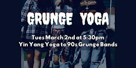 Grunge Yoga tickets