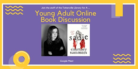 Young Adult Online Book Discussion: Sadie tickets