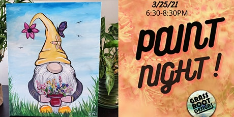 Spring Gnome Paint Night! tickets