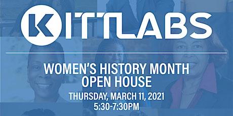KITT Labs - Women's History Month Open House tickets