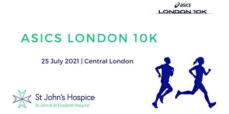 ASICS London 10K 2021 - St John's Hospice Charity Entry tickets