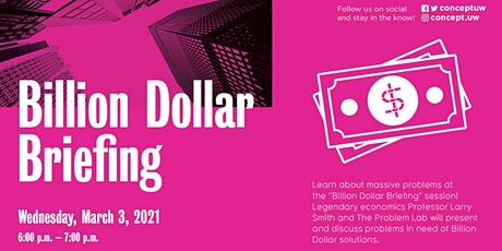 W21 Billion Dollar Briefing tickets