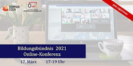 Bildungsbündnis-Konferenz Tickets
