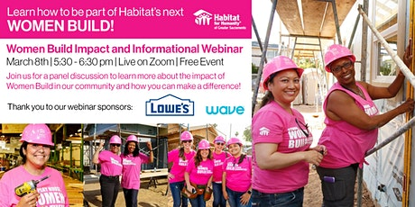 Women Build Informational Webinar tickets
