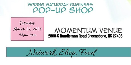 Small Business Saturday Business Pop Up Shop tickets