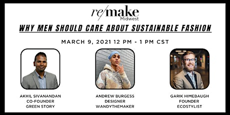 Why Men Should Care About Sustainable Fashion tickets