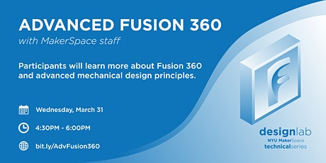 Advanced Fusion 360 tickets