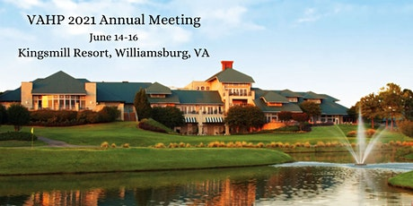 2021 VAHP Annual Meeting tickets