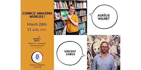 Comics' Amazing Worlds! (Wallonie-Bruxelles / Embassy of Belgium) Tickets