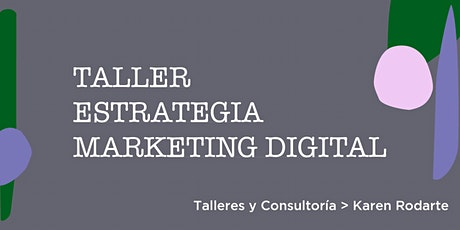 Taller Marketing Digital entradas