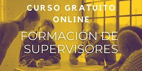"""Curso Gratuito """"Formación de Supervisores """" entradas"""