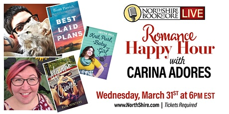 Northshire Live: Carina Adores Romance Happy Hour! tickets
