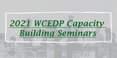 Capacity Building Seminar - Energy Efficiency tickets