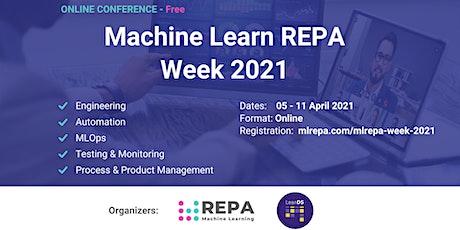 Machine Learning REPA Week 2021 tickets