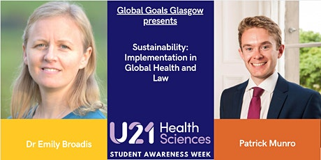 Sustainability: Implementation in Global Health and Law tickets