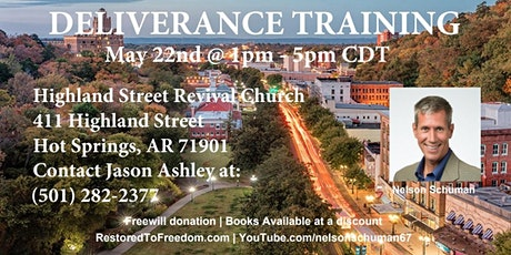 Deliverance Training in Hot Springs, AR tickets