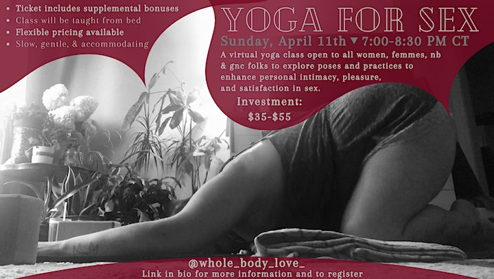 Yoga for SEX image