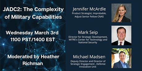 JADC2: The Complexity of Military Capabilities tickets