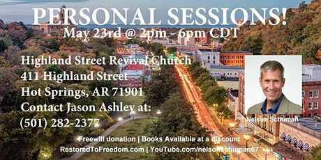 Personal Sessions in Hot Springs, AR tickets