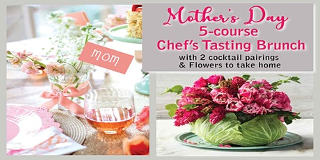 Mother's Day | 5-Course Chef's Tasting Brunch +2 Cocktail Pairings | by LCF tickets