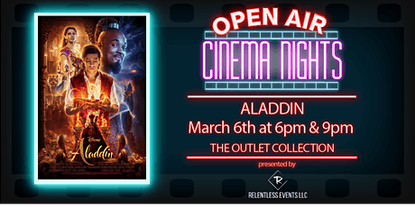 Aladdin | Open Air Cinema Nights tickets