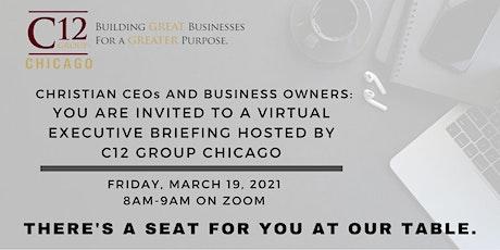 C12 Chicago Executive Briefing- Virtual Event entradas