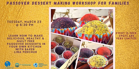 Passover Dessert Making Workshop for Families tickets