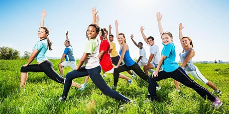 Youth Yoga in the Park (age 7-10)- April 17th -  Reservation Required tickets