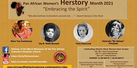 Pan-African Women's Herstory Month 2021 tickets