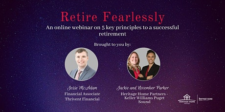 """Retire Fearlessly: An online webinar to have a successful retirement tickets"