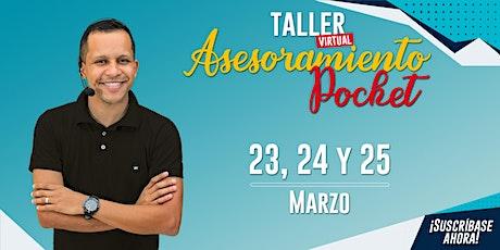 Taller Virtual Asesoria Pocket con Fábio Raian entradas