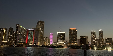 Miami Sunset Cruise with open bar tickets