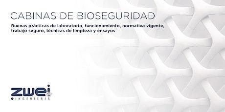 Cabinas de bioseguridad: Buenas prácticas, funcionamiento y seguridad boletos