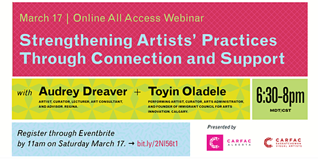 Strengthening Artists' Practices through Connection and Support tickets