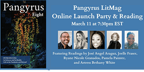 Online Launch Party & Reading for Pangyrus 8 tickets