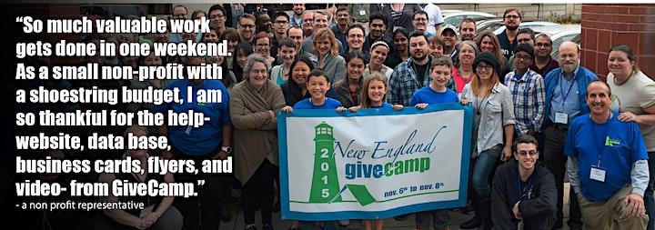New England GiveCamp 2021 image