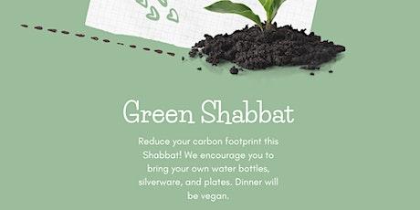 Green Shabbat tickets