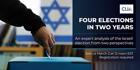 Four  Elections in Two Years  |  An expert analysis of the Israeli election tickets