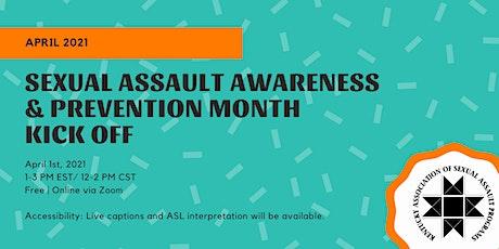 Kentucky Sexual Assault Awareness and Prevention Month Kick Off tickets