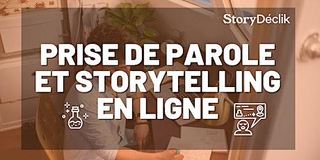 Le pouvoir du storytelling billets