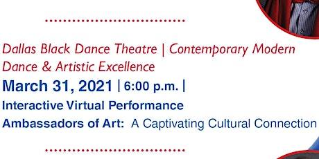 Ambassadors of Art: A Captivating Cultural Connection tickets