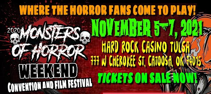 Monsters of Horror Weekend  Vendor Tables image